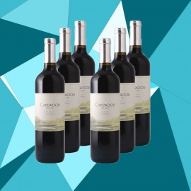 6 Bottles of Capewood Merlot 2011