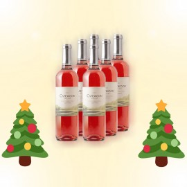 6 bottles of Capewood White Zinfandel 2012