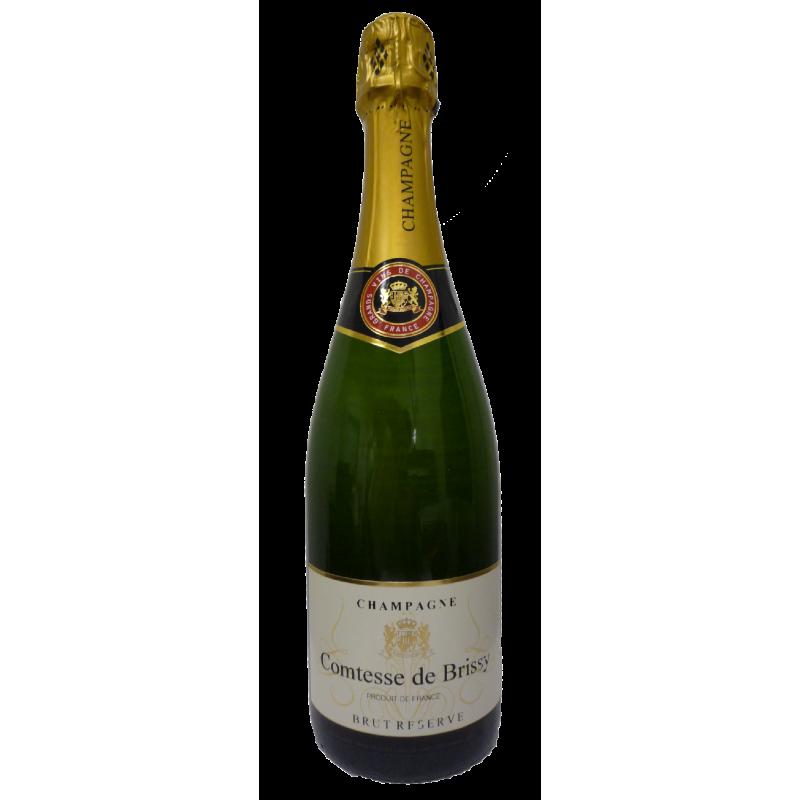 BOUTEILLES Champagne Comtesse de Brissy Brut Reserve (750ml)
