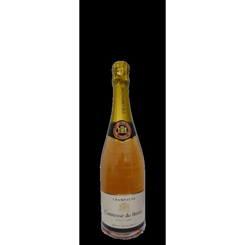 DEMI BOUTEILLES Champagne Comtesse de Brissy Rosé (375ml)