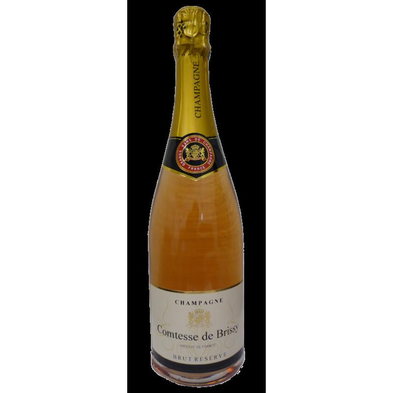 BOUTEILLES Champagne Comtesse de Brissy Rosé (750ml)