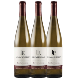 3 bottles of Lucas & Lewellen Gewurztraminer 2012