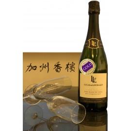 Lucas & Lewellen Blanc de Noirs Sparkling Wine 2011