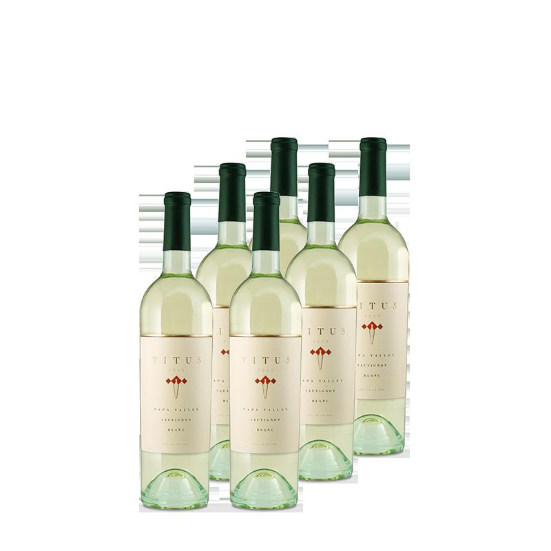 6 bottles of Titus Sauvignon Blanc Napa Valley 2011